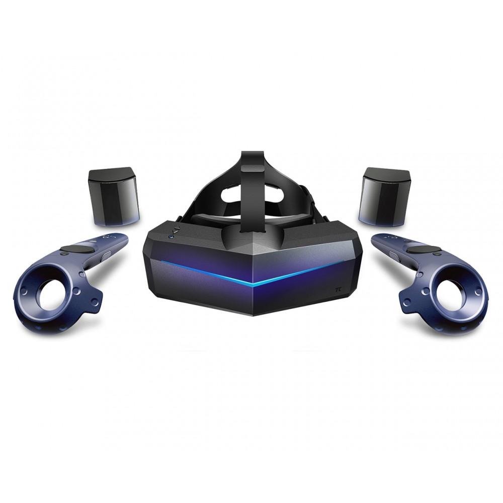 Комплект Pimax 5K Plus с контроллерами и базовыми станциями Vive 2.0