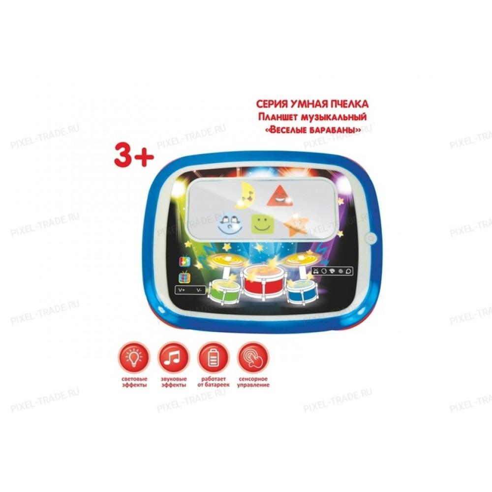 Детский игровой обучающий Планшет Забияка Весёлые барабаны 864903