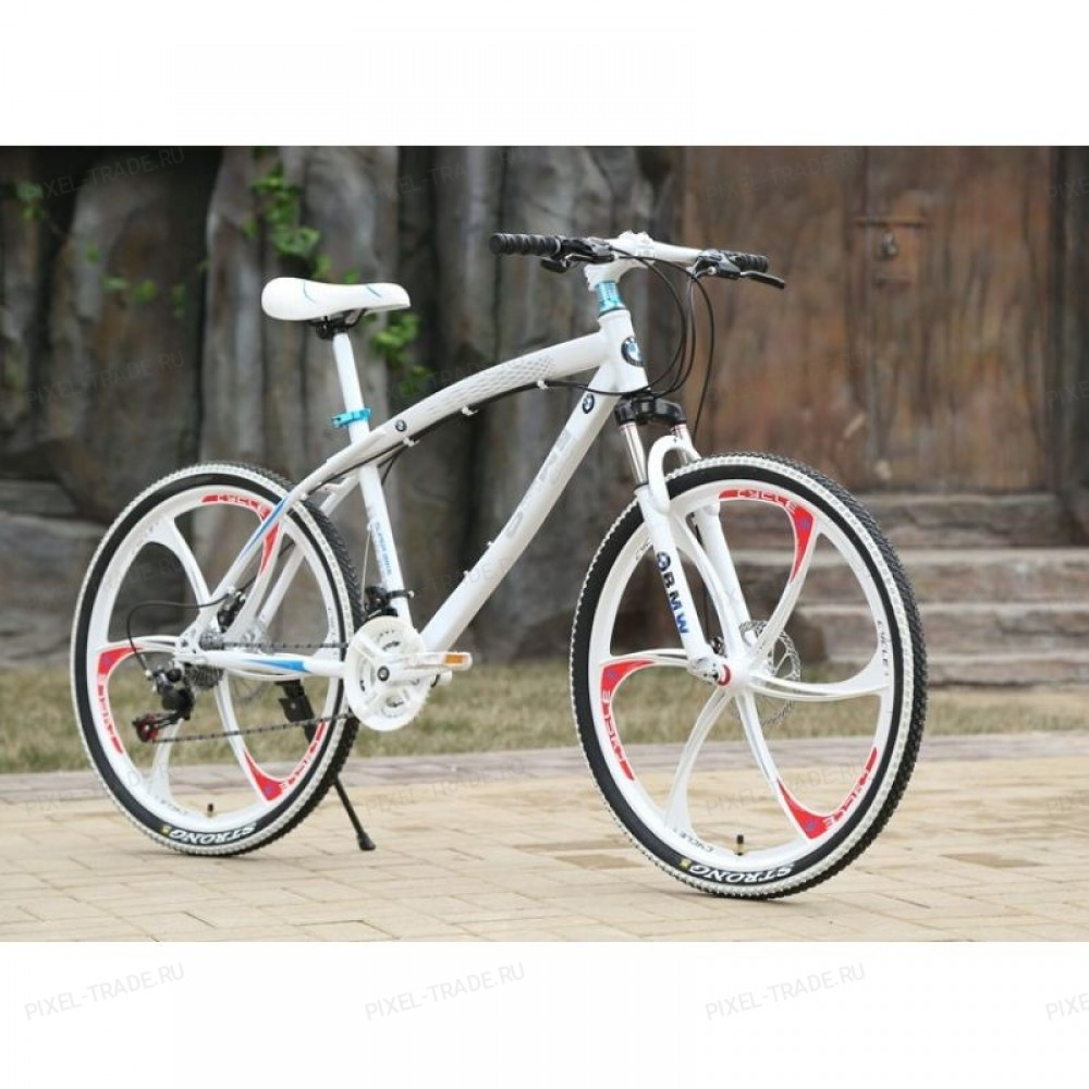 Велосипед на литых дисках BMW X1 Белый (White)