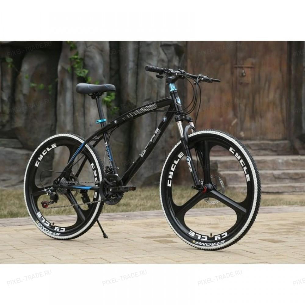 Велосипед на литых дисках BMW X1 Черный (black)