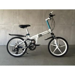 Велосипед на литых дисках BMW white Kids