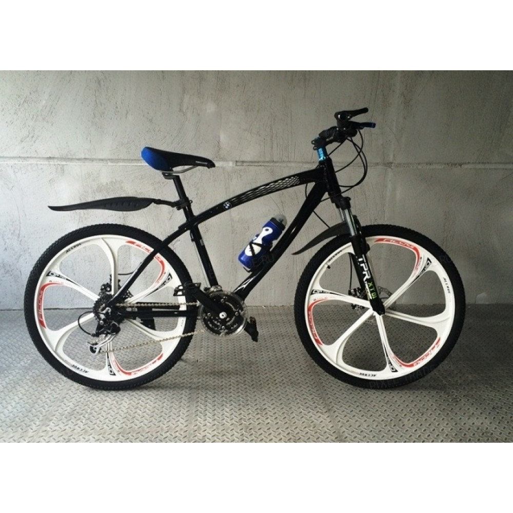 Велосипед на литых дисках BMW X1 black-white
