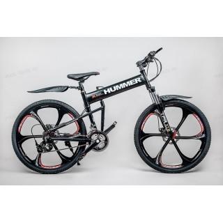 Велосипед на литых дисках Hummer X Black