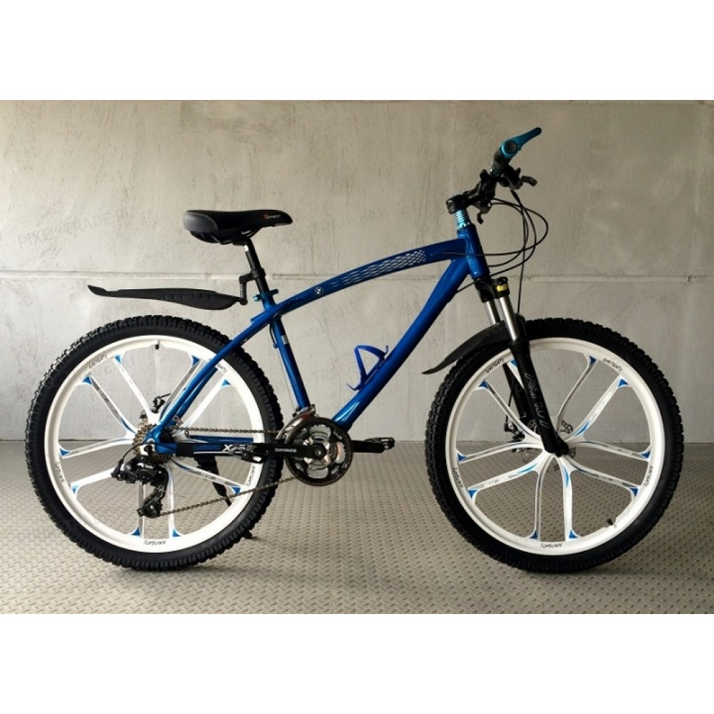 Велосипед на литых дисках BMW X1 Blue