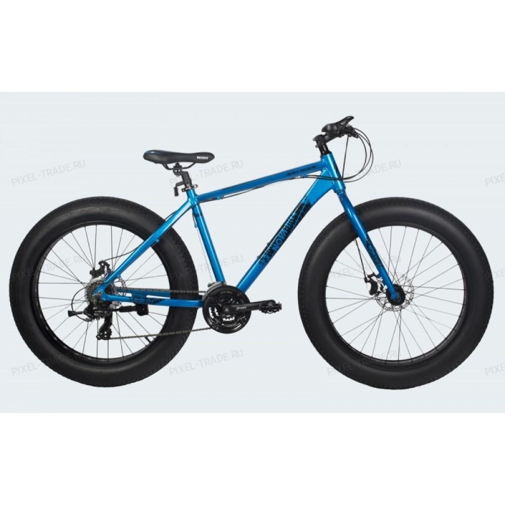 Велосипед Фэтбайк Off-road blue