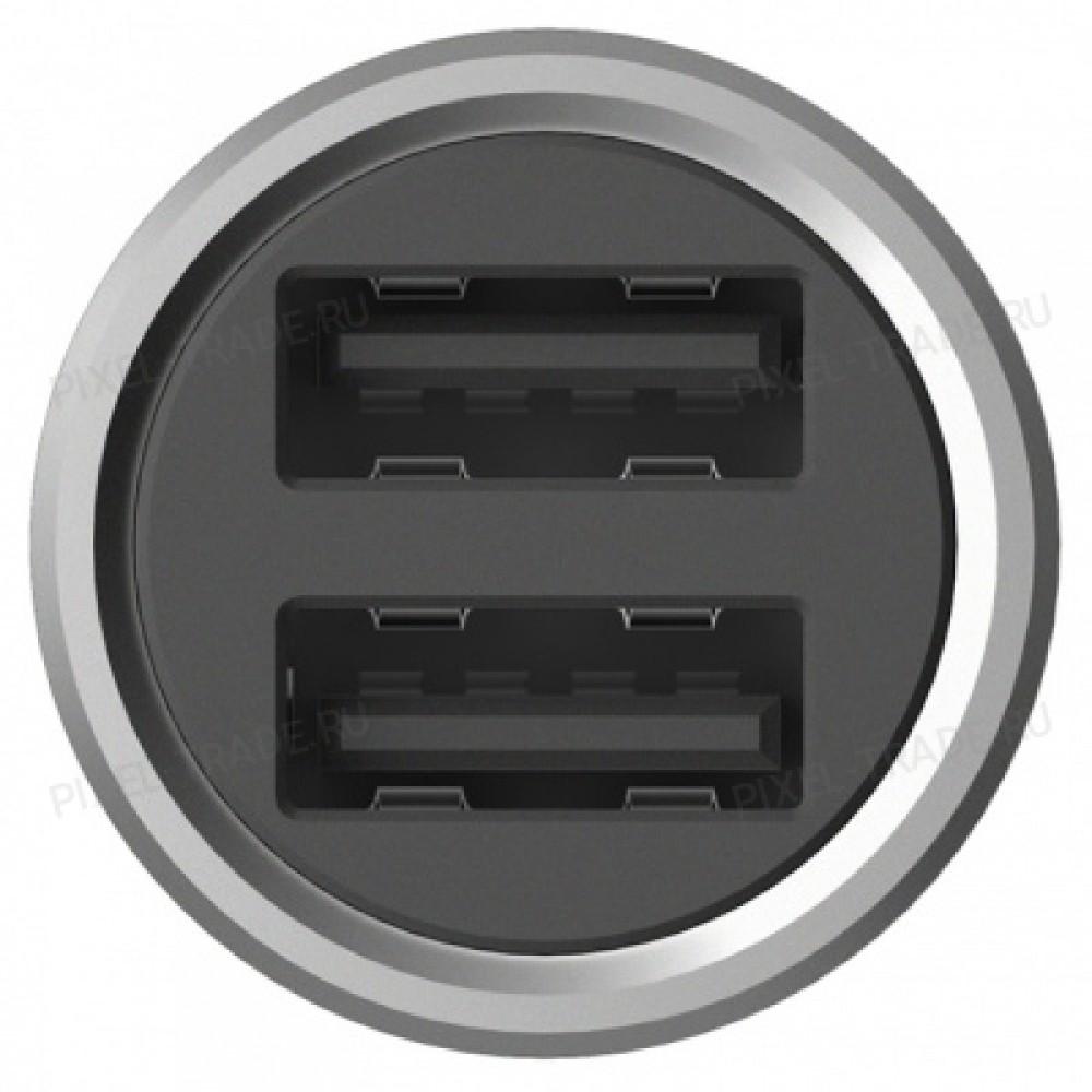 Автомобильное зарядное устройство Xiaomi Roidmi Metal Car Charger C1 2USB 3,6A