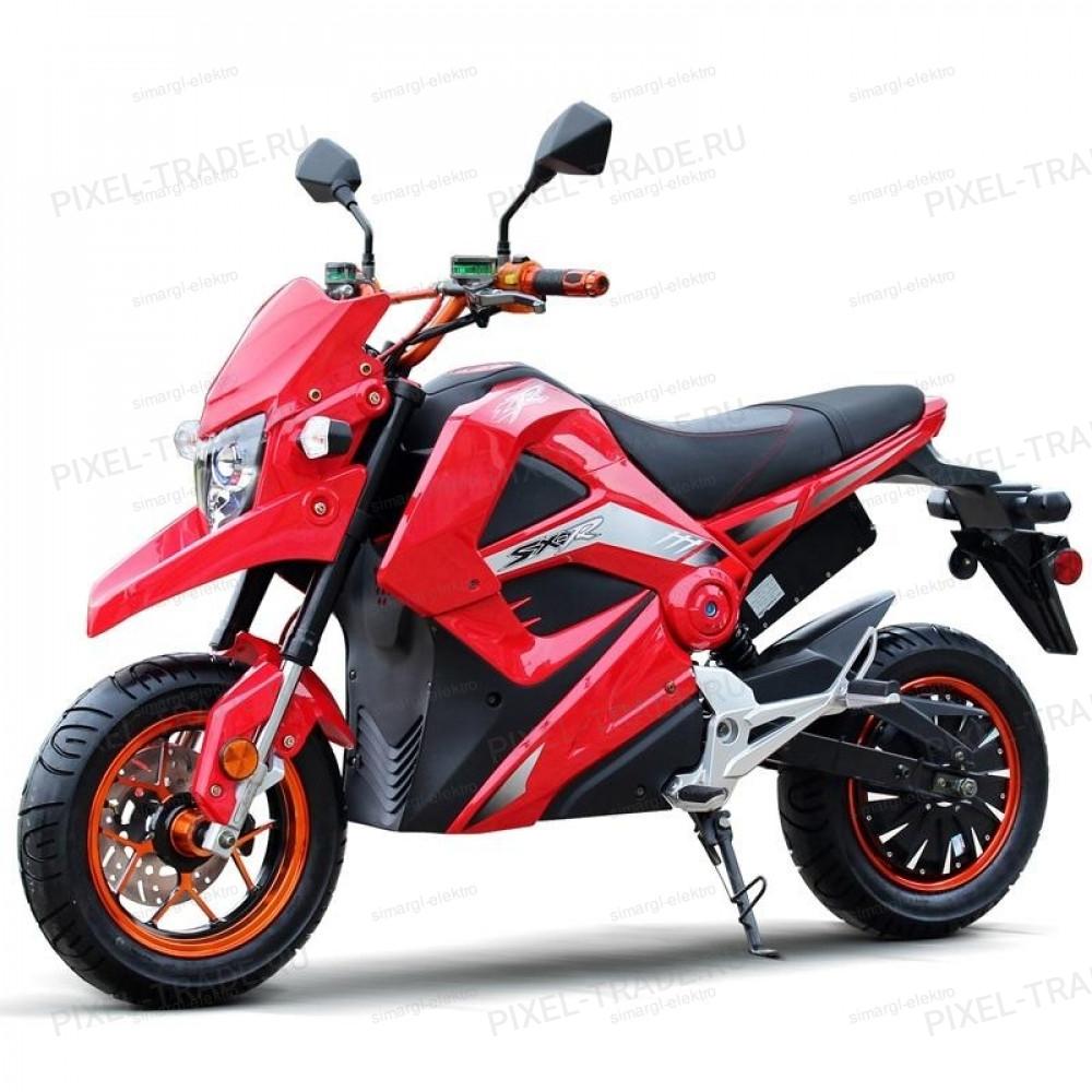 Электромотоцикл Cafe Racer М5