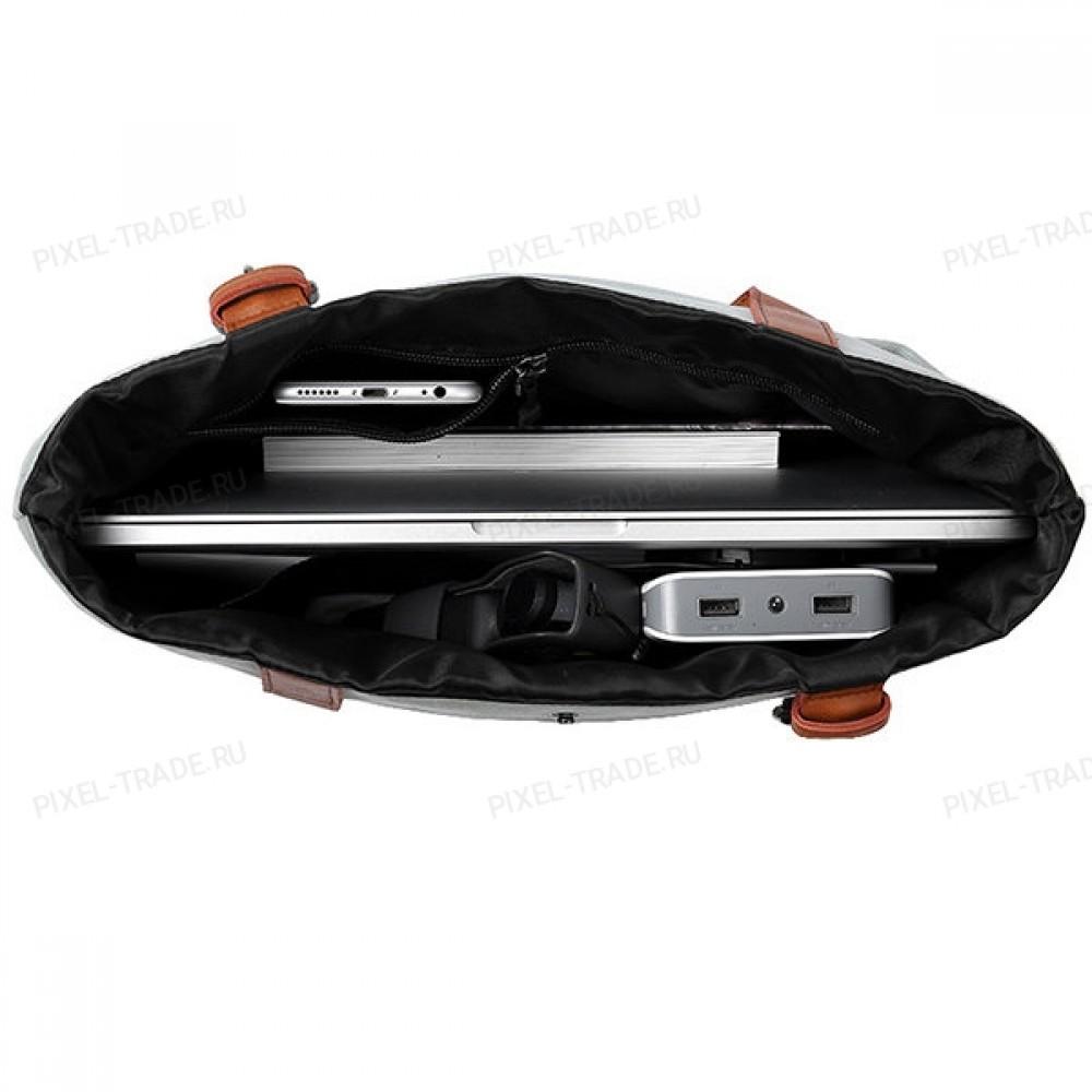 Cумка Xiaomi 15L Leisure Handbag Cotton grey