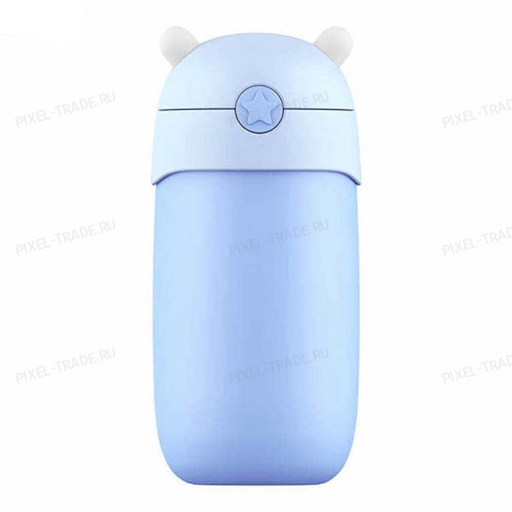 Детский термос Xiaomi mitu (Rice Rabbit) Blue