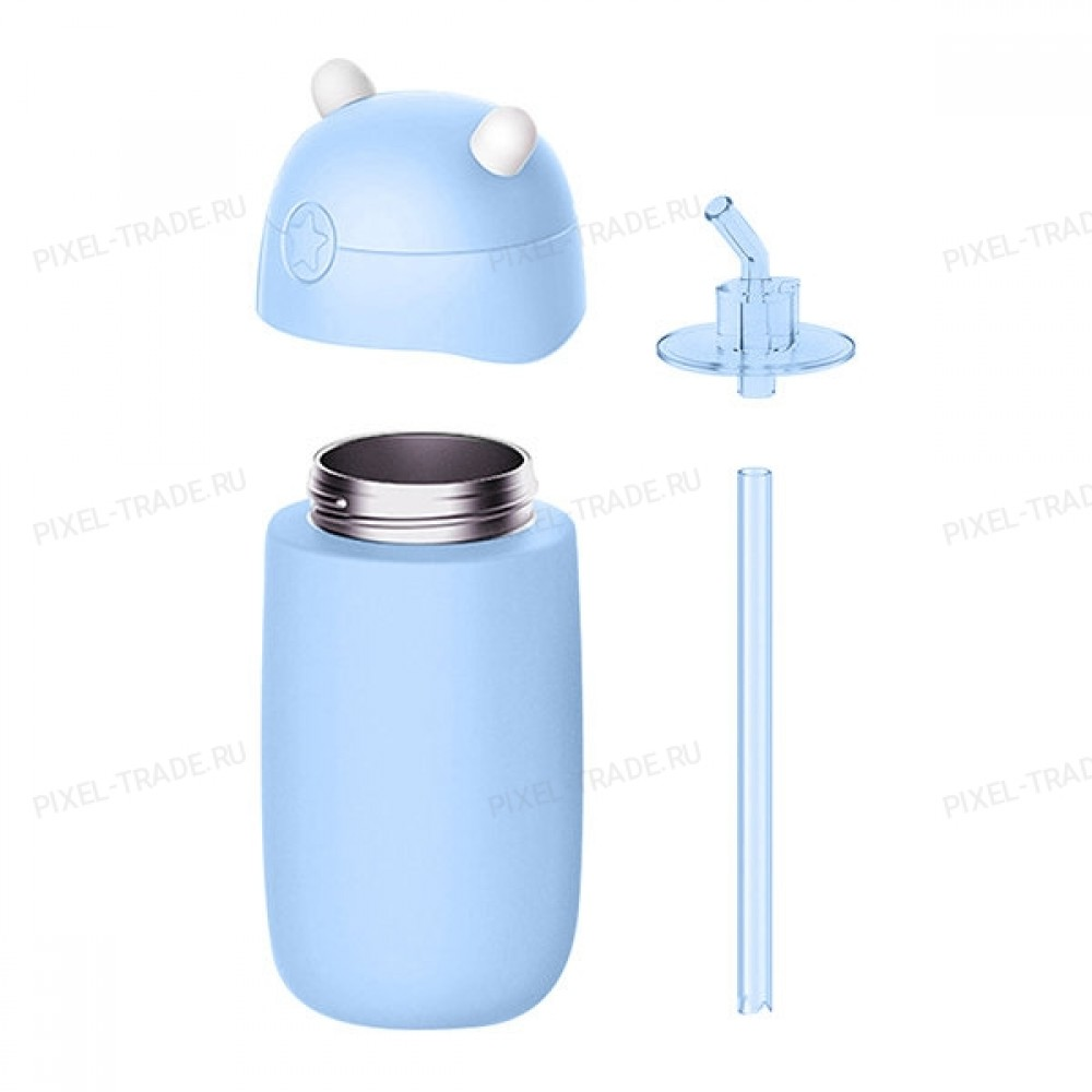 Детский термос Xiaomi mitu (Rice Rabbit) Blue
