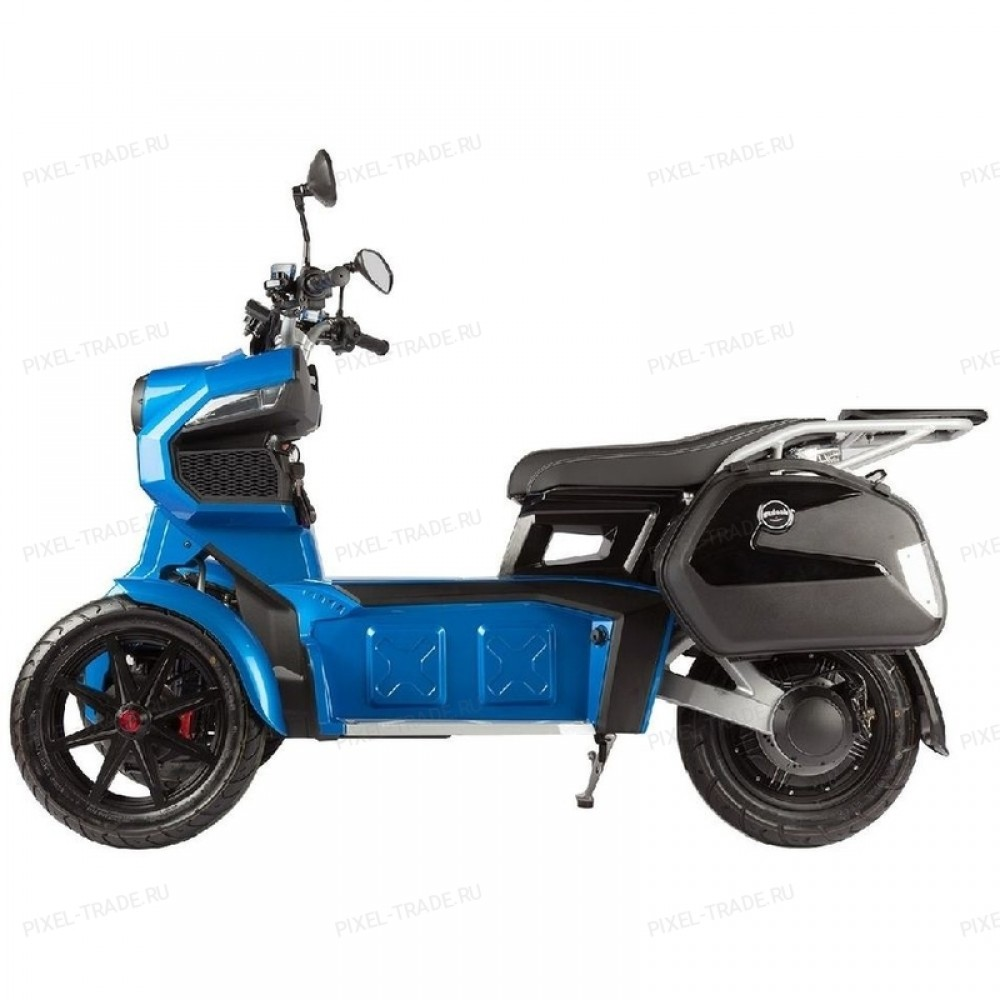 Электромотоцикл iTank Doohan EV3 1500W Синий