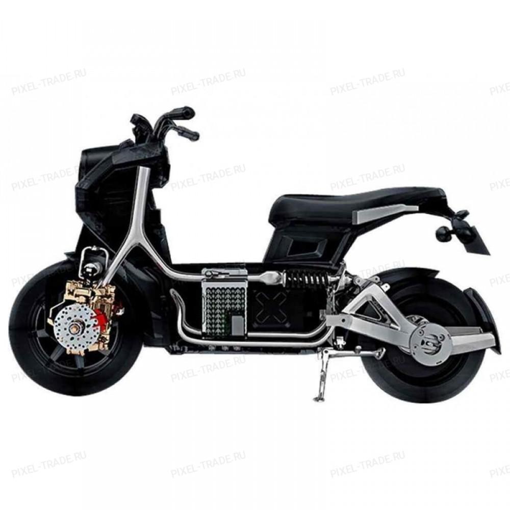 Электромотоцикл iTank Doohan EV3 1500W Зеленый