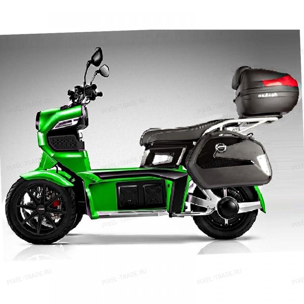 Электромотоцикл ITank Doohan EV3 Pro 3000w Зеленый