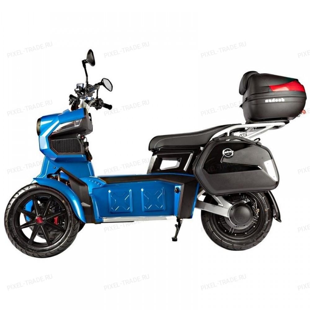 Электромотоцикл ITank Doohan EV3 Pro Blue 3000W