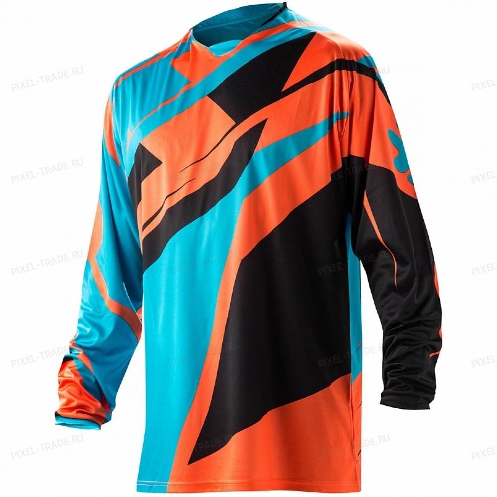 Джерси ACERBIS PROFILE MX orange/blue M NEW