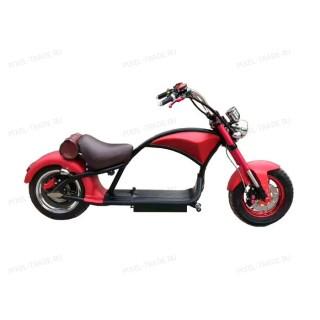 Электроскутер Citycoco Harley Chopper Красный 2000W, 60В 20Ah