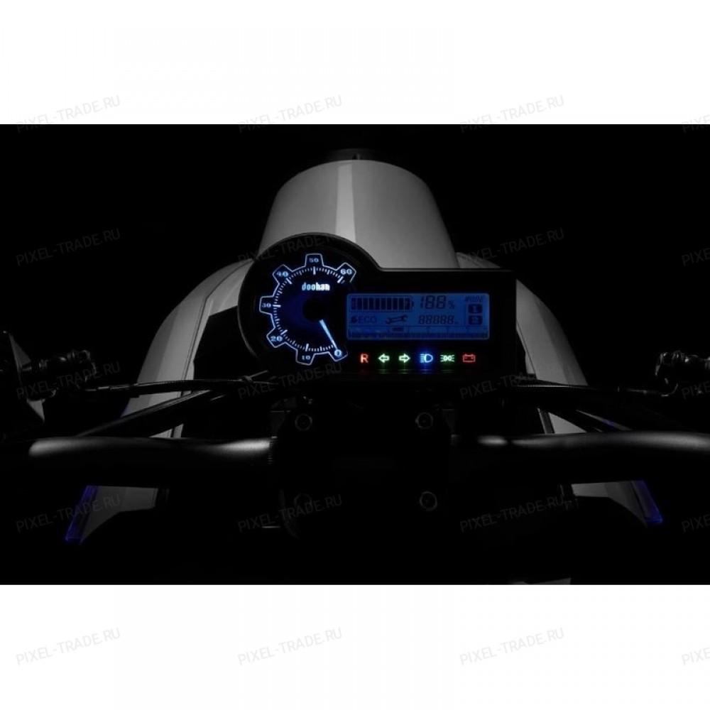 Электромотоцикл iTank Doohan EV3 1500W Черный