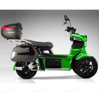 Электромотоцикл  iTank Doohan EV3 Pro 1500w Зеленый