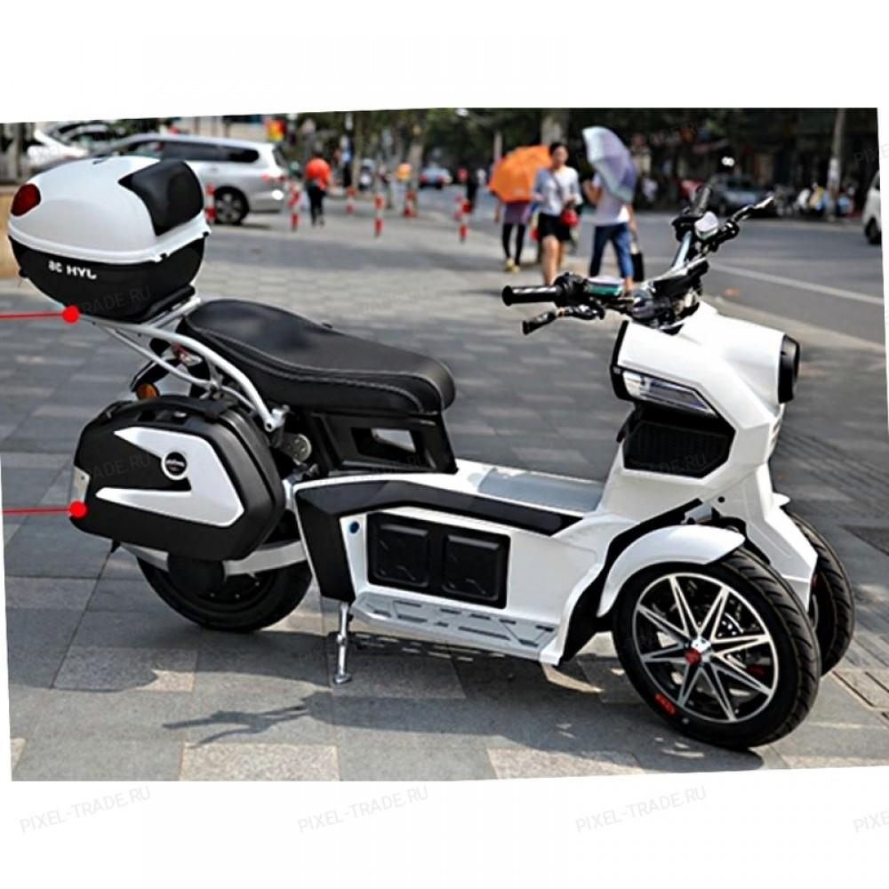 Электромотоцикл  ITank Doohan EV3 Pro 3000w Белый