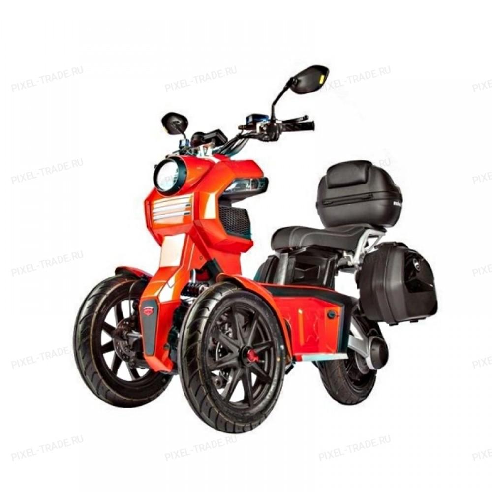Электромотоцикл ITank Doohan EV3 Pro 3000W Red