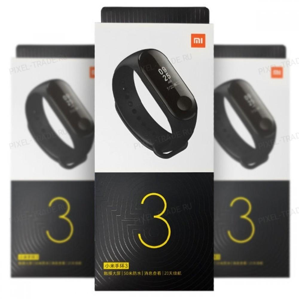 Фитнес браслет Xiaomi Mi Band 3 Black EU