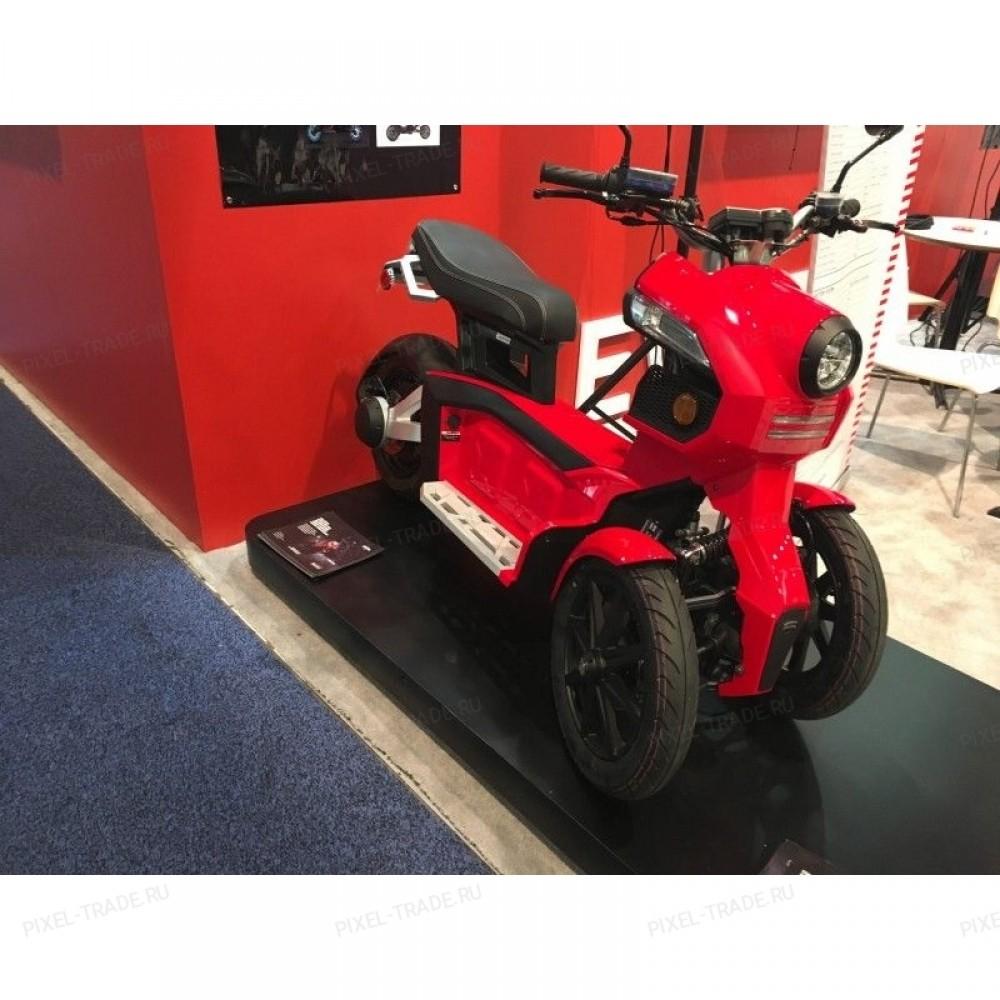 Электромотоцикл iTank Doohan EV3 1500W Красный