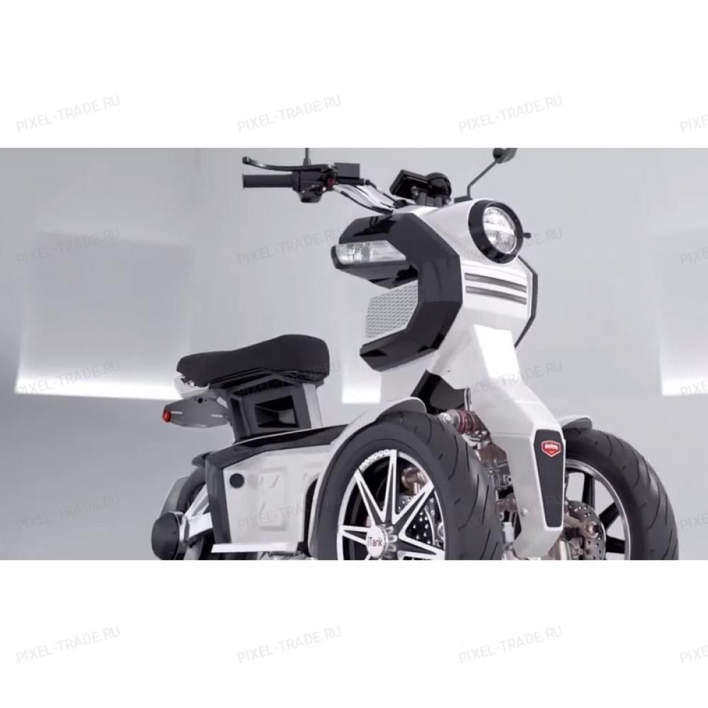 Электромотоцикл iTank Doohan EV3 1500W Белый