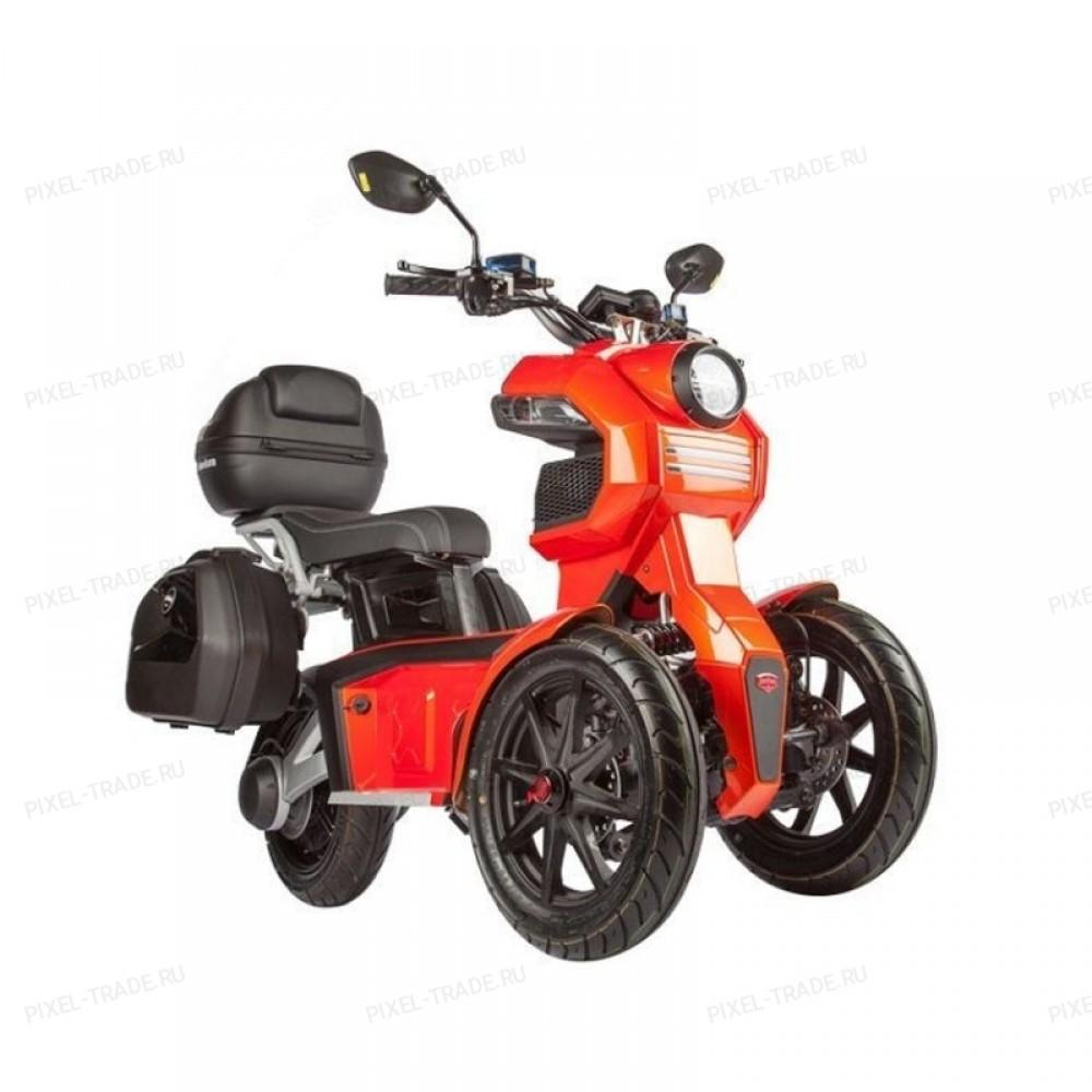 Электромотоцикл  iTank Doohan EV3 Pro 1500W Red