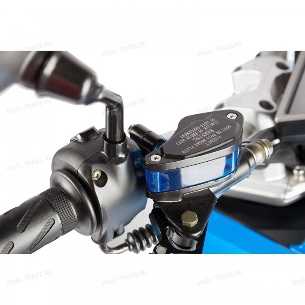 Электромотоцикл iTank Doohan EV3 Pro Blue 1500W