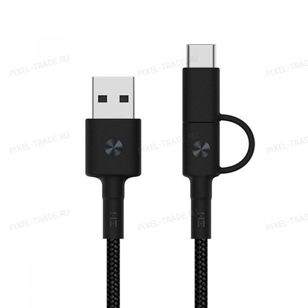 Кабель Xiaomi 2-in-1 Cable L=1.5m Type-C/Lightning Black