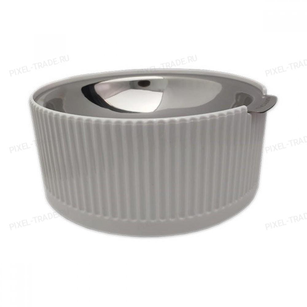 Миска для животных Xiaomi Tail Llife Bobo pet Steel food bowl White