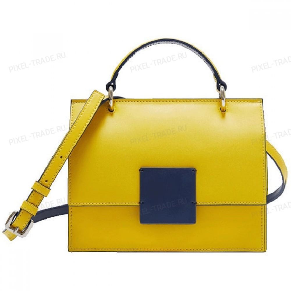Сумка Xiaomi CARRY'O Nordic Geometric Contrast Bag Yellow