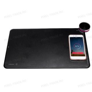Умный коврик для мыши Xiaomi Smart Qi Wireless Charging Mouse Pad