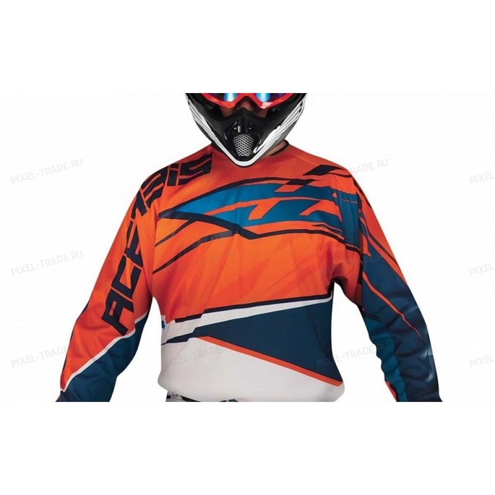 Джерси ACERBIS MX KID orange/blue M
