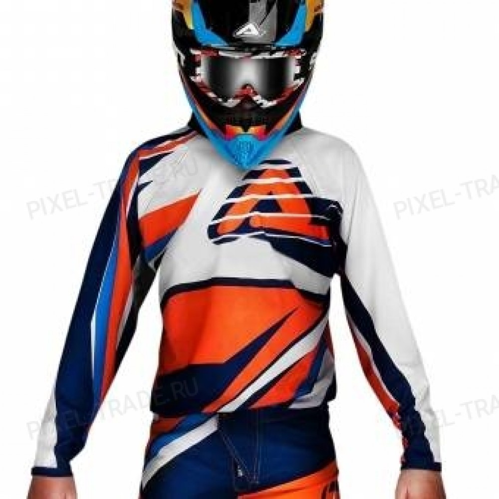 Джерси ACERBIS MX KID orange/blue XS