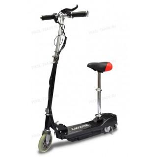 Электросамокат E-Scooter 120w Черный (с сиденьем)