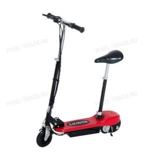 Электросамокат E-Scooter 120w Красный (с сиденьем)