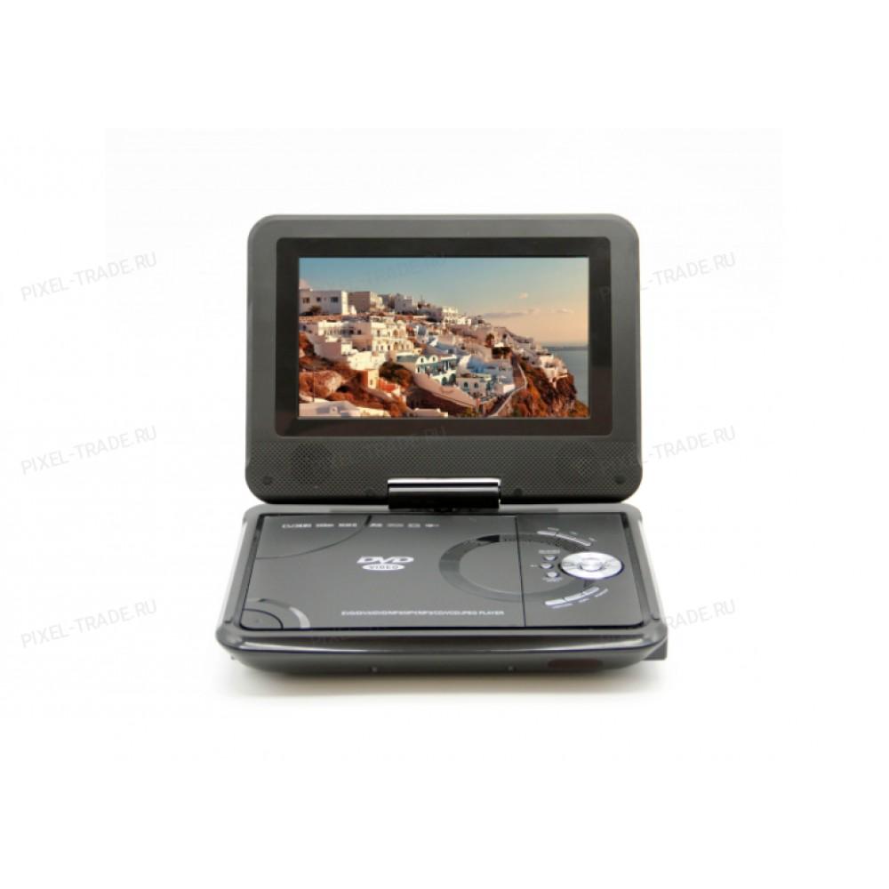 7.5 дюймов DVD плеер портативный с цифровым тюнером DVB-T2 LS-718T