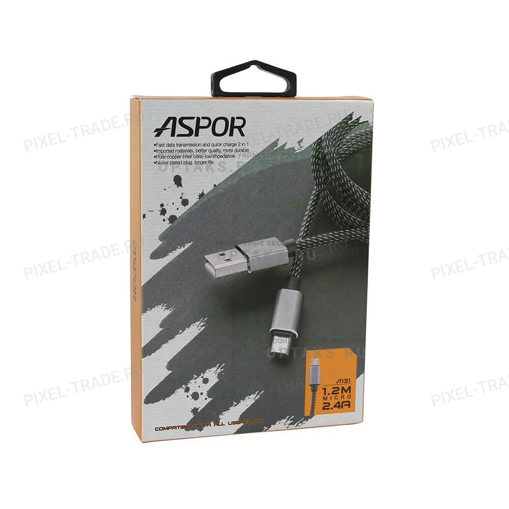 USB кабель  Aspor A131 micro