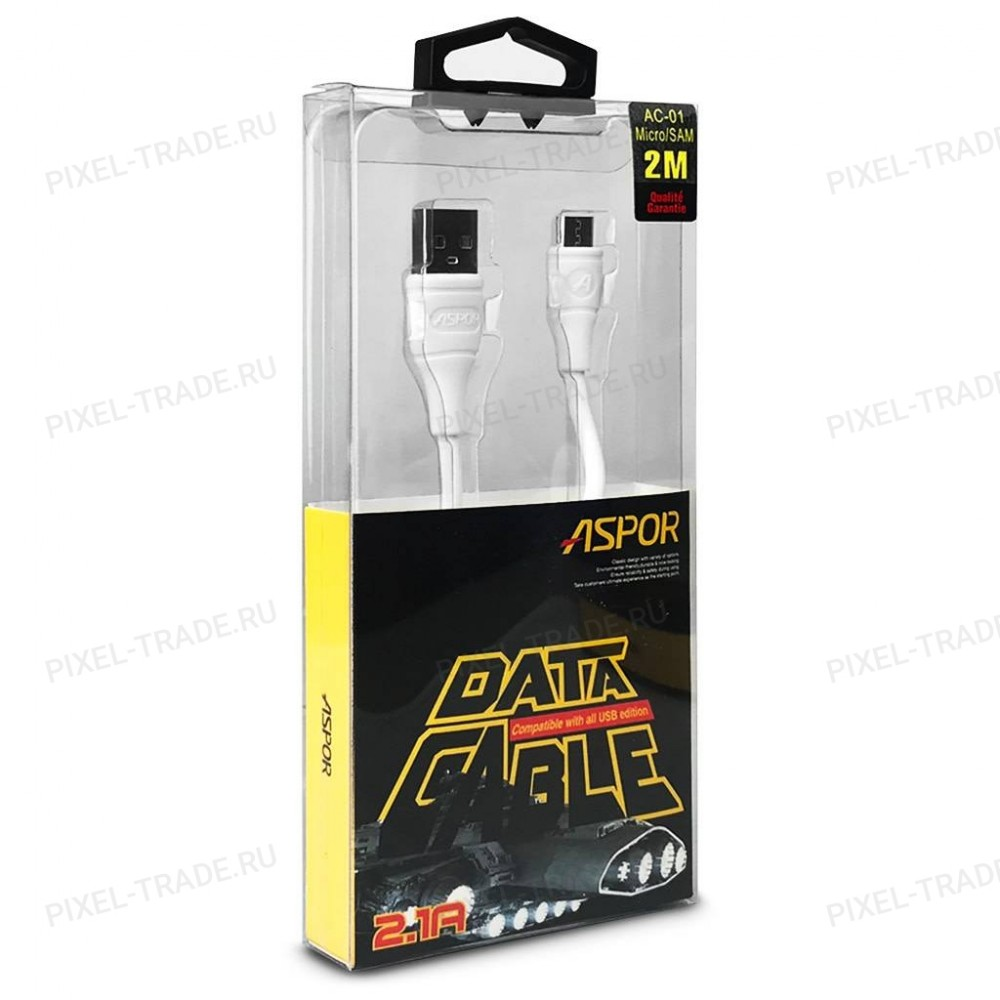 USB-кабельAspor AC-01L Micro