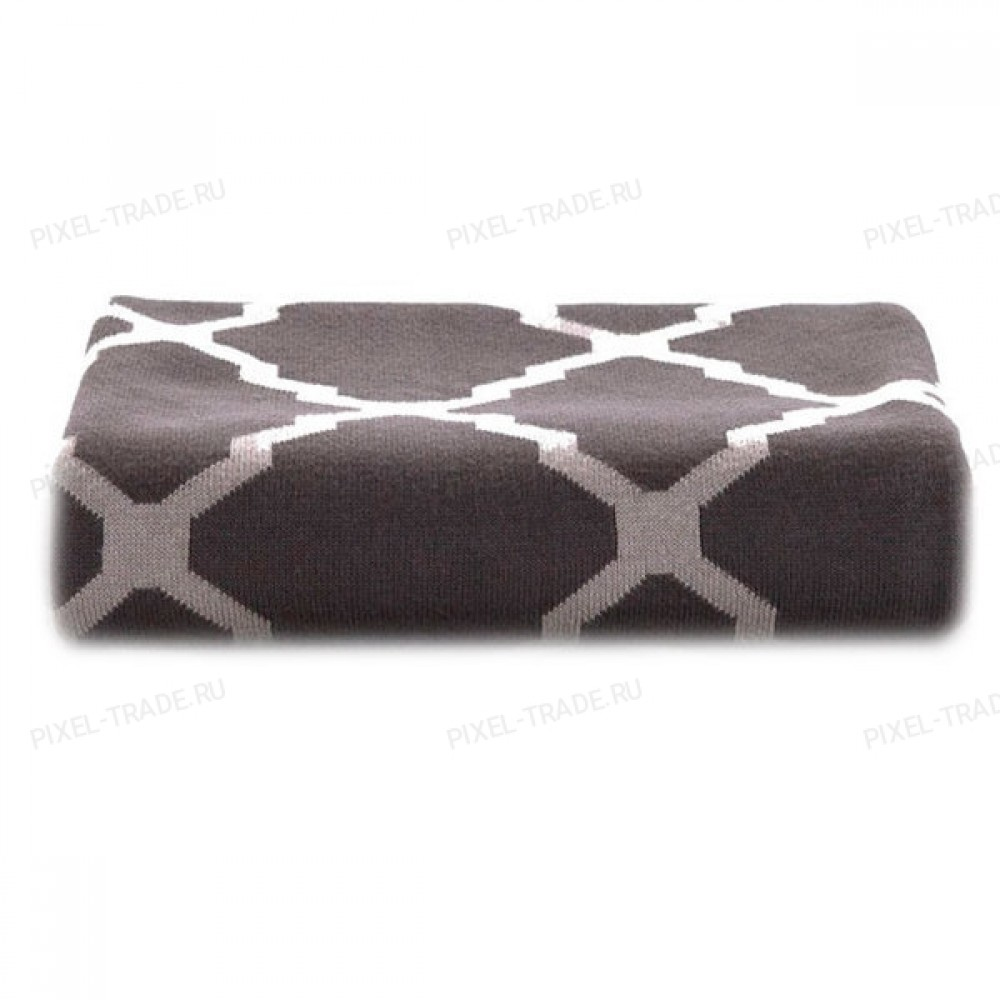 Плед Tonight Сotton Knitted Blanket Gray 80x140см