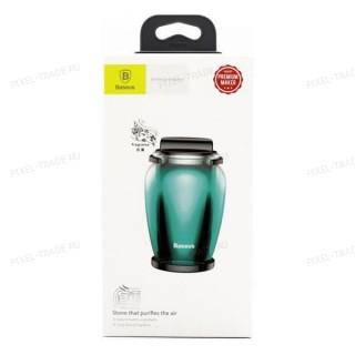 Автомобильный ароматизатор Baseus Zeolite Car Fragrance (Green) AMROU-03