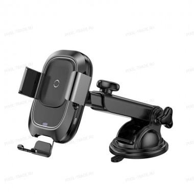 Автомобильный держатель Baseus Smart Vehicle Bracket Wireless Charger (WXZN-01)