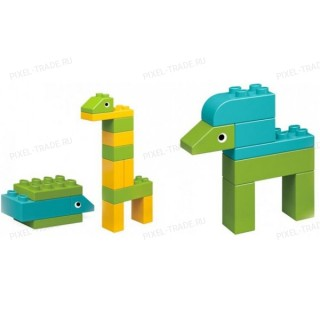 Конструктор Xiaomi Mi Bunny Animal Park Building Blocks (MTDJM01IQI)