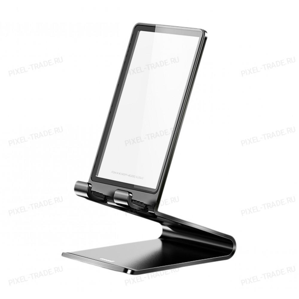 Подставка под телефон Baseus Suspension glass Desktop Bracket Black SUGENT-XF01