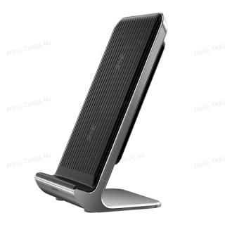 Вертикальная Беспроводная Зарядка Baseus Vertical Desktop Wireless Charger (Black) WXLS-01