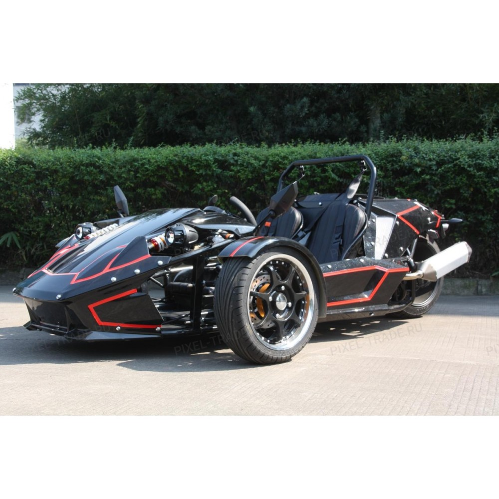 ZTR Trike Roadster 250 CC Черный