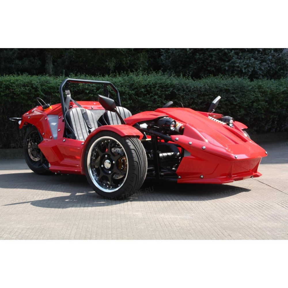 ZTR Trike Roadster 250 CC Красный