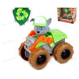 Щенок Рокки с машинкой монстр-кар Щенячий патруль