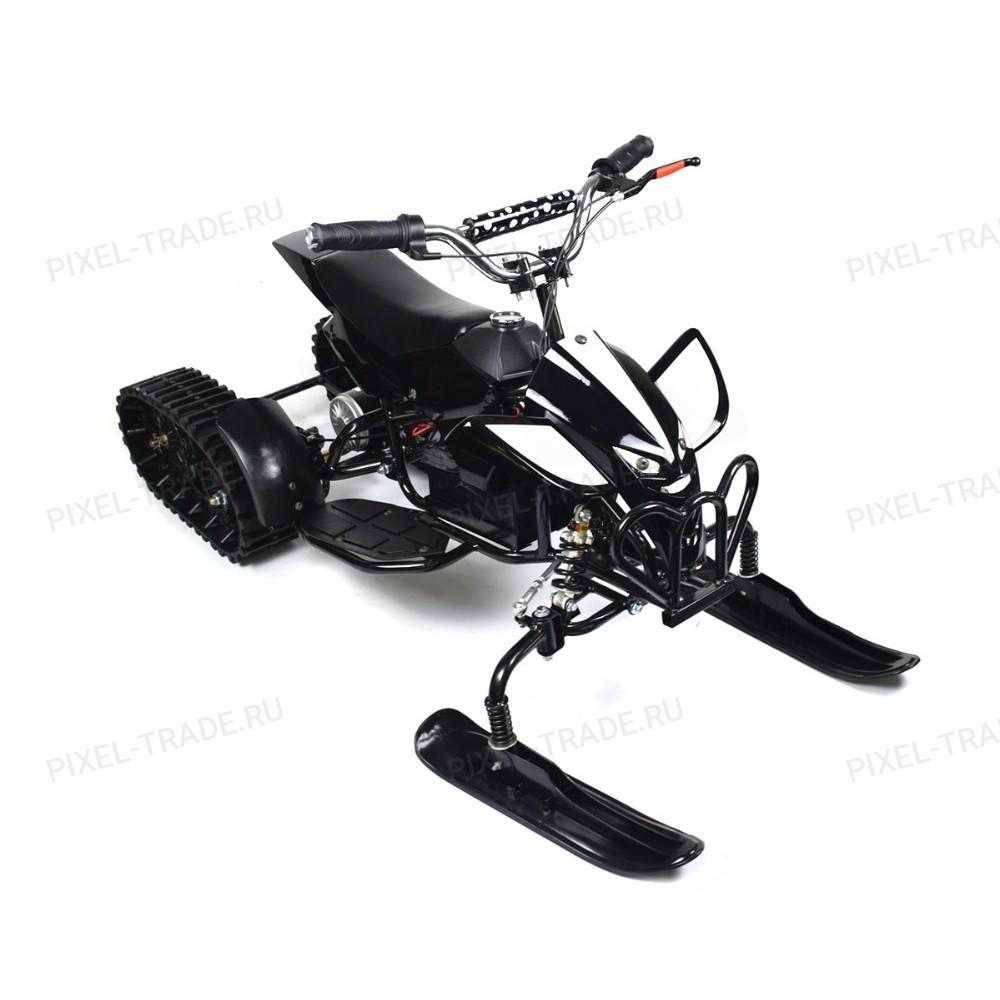 ML-50 Snow 2 в 1 (детский квадроцикл-вездеход) Черный